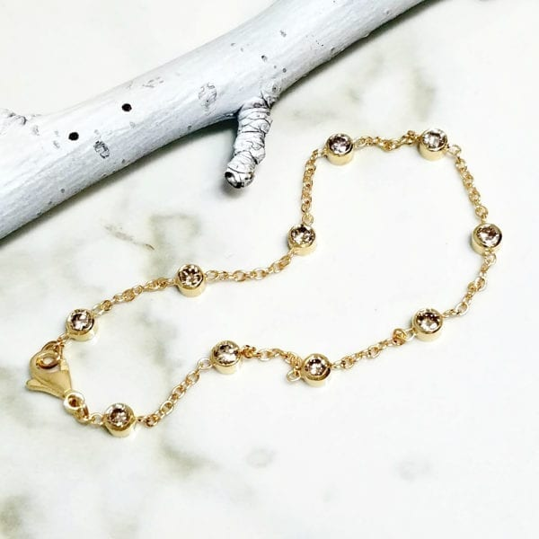 diamonds by the yard bracelet