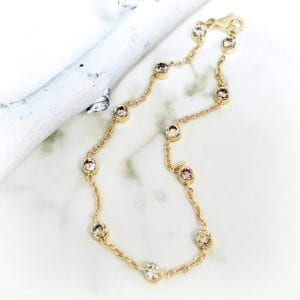 bracelet diamonds by the yard
