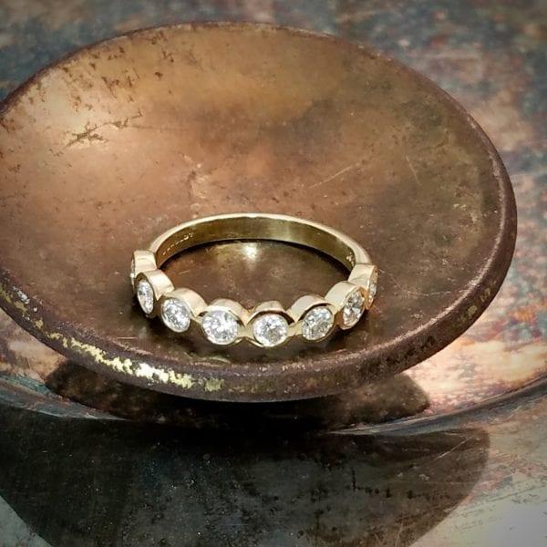 diamond bezel band