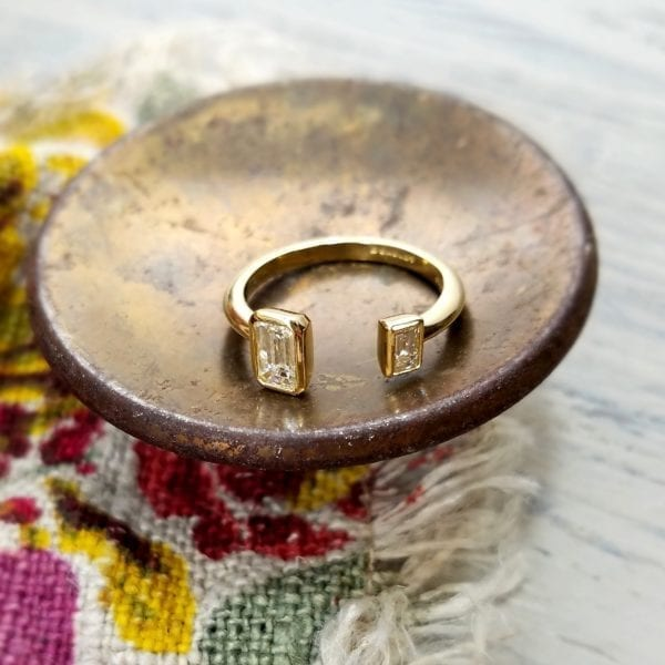 2-stone fashion ring