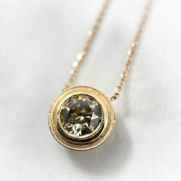 diamond pendant necklac