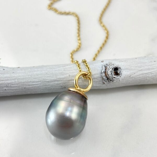 Tahitian Pearl Pendant Necklace